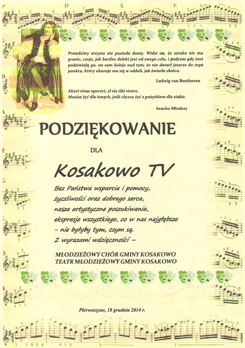 podziekow-kosak-tv